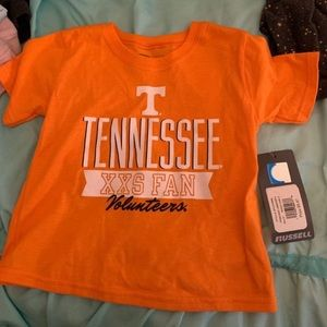 🆕 Russell Tennessee Volunteers T-shirt 3T